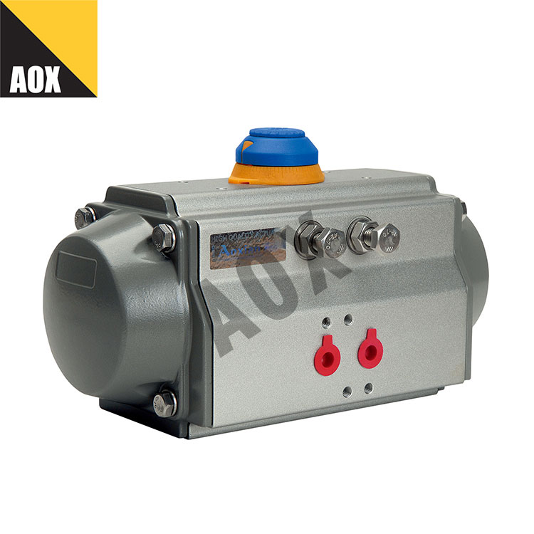 Sənaye ikiqat fəaliyyət göstərir pnevmatik aktuator